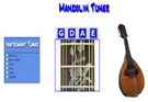 Mandolin, Bass Guitar, Violin, Viola, Cello, and Ukelele Tuners